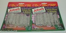 JOBES Plant Food Spikes Potted Plants/ Hanging Baskets 36 Spikes NIP