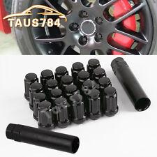 20 Black 12x1.25 Spline Lug Nuts for Nissan Rouge Teana Sylphy Altima 370Z 350Z