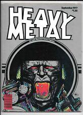 Heavy Metal Magazine Vol 1 #6 September 1977 FN Moebius Corben Druillet Cover