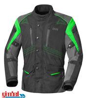 "IXS Motorradjacke Textiljacke ""TAREL"" schwarz-grün-gun metal - 1-A TOP Qualität"