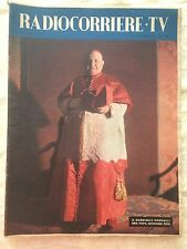 Radiocorriere TV n.45 novembre 1958 - Papa Giovanni XXIII