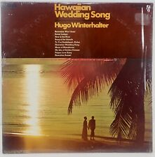Hugo Winterhalter and his Orchestra Vtg Hawaii Wedding Song Vinyl Album LP 1969