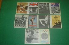 More details for esso olympic action collection 1886 - 1972 7 stickers cards