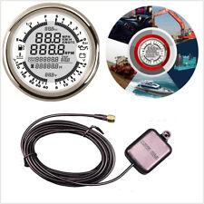 6 IN 1 Digital Backlight 12-24V GPS Speedometer Multimeter for Marine Motor Auto
