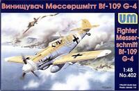 UniModels — Messerschmitt Bf 109G-4 — Plastic model kit 1:48 Scale #402