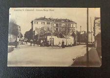CARTOLINA LUSERNA S. GIOVANNI BORGO AIRALI VIAGGIATA DEL 1920 SUBALPINA