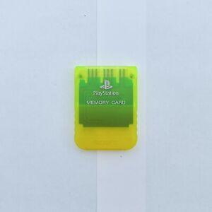PlayStation Memory Card, Yellow