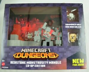 Minecraft Dungeons Red Stone  MONSTROSITY Mangle Co-OpEdition Mojang 2020