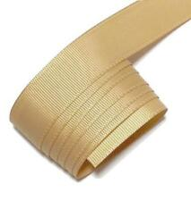"5 yards Pale gold 7/8"" grosgrain ribbon by the yard DIY hair bows"