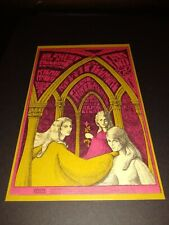 Bg 91 Fillmore Postcard. Pink Floyd, Big Brother. Mint