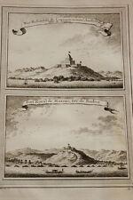 GRAVURE AFRIQUE FORT ROYAL MANFRO CORMANTIN HOLLANDE 1747