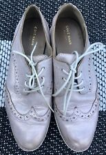 Cole Haan Women's Leather Rose Gold Oxford Shoes Sz 8.5