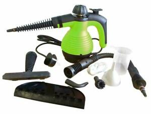 Steam Cleaner Hand Held Steamer Kitchen Bathroom Tile Universal Cleaning Green