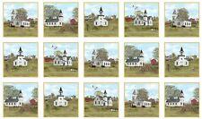 Amazing Grace Church Religious Cotton Fabric Elizabeths Studio 24
