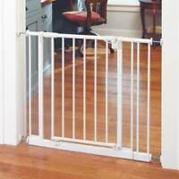 North States Easy Close 28 to 38.5in Metal Baby Child Pet Safety Gate
