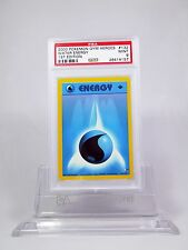 PSA 9 MINT 1st Edition Water Energy Pokemon Gym Heroes #132/132