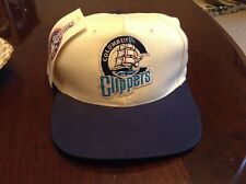 Vintage NWT  Columbus Clippers MiLB Snapback Hat Baseball Cap USA Made Sharp