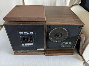 Vintage PS-8 Point Source Design Acoustic Loudspeakers. Sound Great