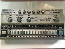 Vintage Roland TR-606 TOM MOD Drumatix Computer Controlled Drum Machine 80s RARE
