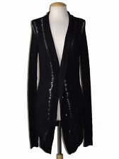 ** ANN DEMEULEMEESTER ** $1,165 NWT Shred Stitch Cashmere Blend Cardigan