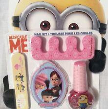 Minions Despicable Me 4 Piece Nail Kit