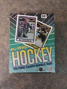 1990-91 NHL TOPPS HOCKEY 36 UNOPENED PACK WAX BOX MODANO MOGILNY ROENICK RC ?