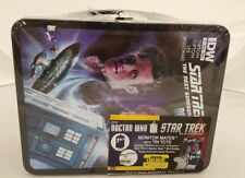 Doctor Who Star Trek The Next Generation Monitor Mate Tin Tote Gift Set NEW