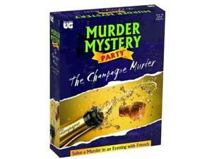 Murder Mystery Champagne Murders