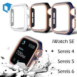 For Apple Watch Series 6 5 4 SE Bumper Hard Case Cover Shockproof Frame 40 44mm