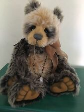 Charlie Bears Arkwright Limited Edition Isabelle Lee Mohair Bear - Retired