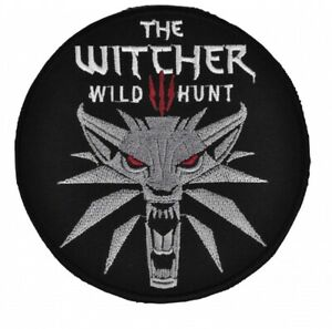 The Witcher 3: Wild Hunt Patch Assassins of Kings Logo Wolf Head Gerlat Cosplay