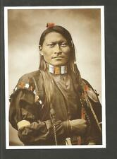 CARTE POSTALE INDIEN AMERIQUE RED SLEEVE ARMED PANTHER CHEYENNE SCOUT ECLAIREUR
