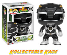 Power Rangers - Black Ranger Pop! #361