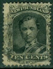 EDW1949SELL : NEWFOUNDLAND 1865-94 Scott #27a Thin Yellowish paper. Cat $115.00.