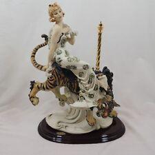 TIGER LILY Giuseppe Armani Porcelain Italian Figurine by Florence Tiger Carousel