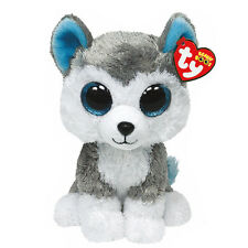 "TY Beanie Boos 6"" Slush The Husky Dog"