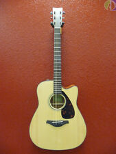 Yamaha FGX800C Acoustic Electric Guitar, Natural, Solid Top, Free Shipping USA