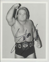 Greg The Hammer Valentine WWE HOF Autograph WWF Wrestling Signed Photo