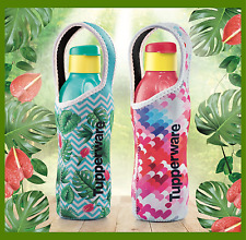 TUPPERWARE Water Bottle BPA Free With Pouch(2) 750ml Limited Edition Gift