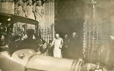 alte Ansichtskarte Trier Dt. Kaiser beim Verlassen des Doms s/w post gel in 1913