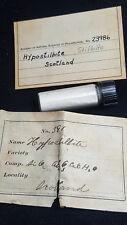 Hypostilbite (Stilbite) Scotland Philadelphia Academy Collection 19th C Label