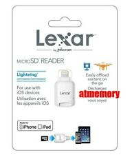 Genuine Lexar Micro SD to Lightning Card Reader LRWMLBEU