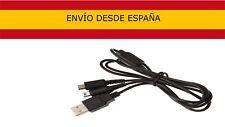 Cable de Carga USB para Nintendo DSI 3 DS N3DS Dsi XL Cargador