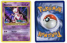 POKÉMON 51/108 MEWTWO STAFF PRERELEASE EVOLUTIONS FR FRENCH INTROUVABLE