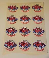 Vintage TREND Stinky Stickers NEW CAR matte Scratch-N-Sniff sticker - NO TM