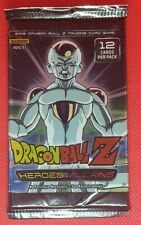 2015 DRAGONBALL Z HEROES AND VILLAINS SEALED BOOSTER PACK PANINI