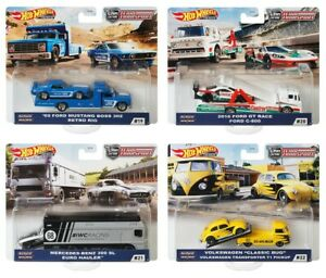 HOT WHEELS® PREMIUM FLF56 - CAR CULTURE TEAM TRANSPORT - 4 Limitierte Modelle