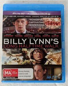 BILLY LYNN'S LONG HALFTIME WALK - 3D + 2D Blu-Ray Region A B C oz seller