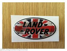 54x27MM UNION JACK LAND ROVER - STICKER -  DEFENDER DISCOVERY 90 110