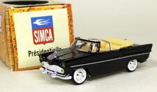 Norev 1/43 Scale - Simca Presidentielle 1958 Black Diecast model car